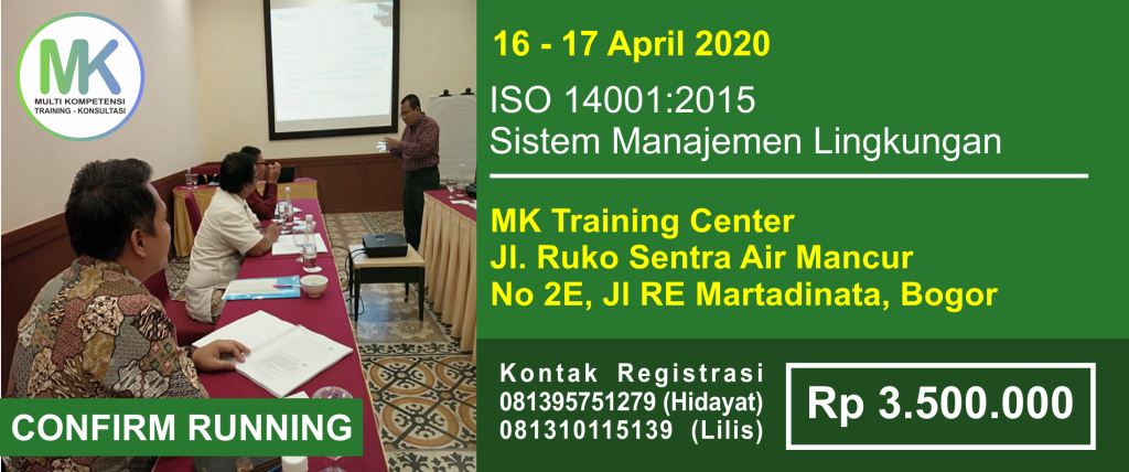 ISO 14001 16-17 April 2020