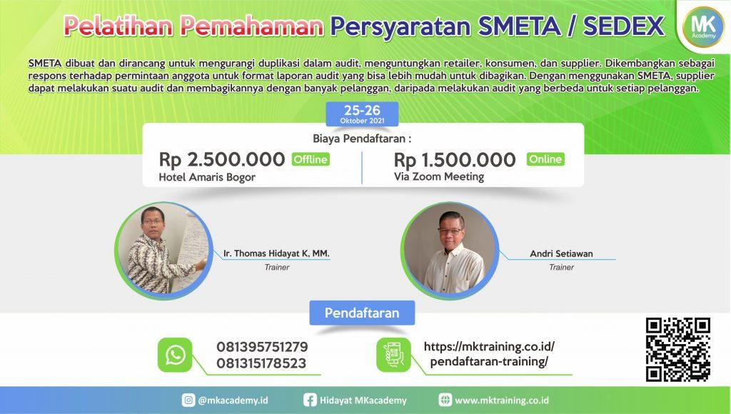 Pelatihan pemahaman persyaratan SMETA / SEDEX